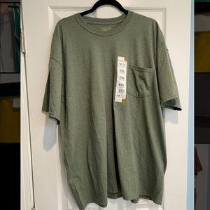 Gold toe light green men's tshirt XXL